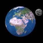Erde-Mond-Rotation